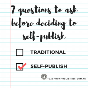 7 Questions to ask before self-publishing