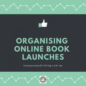 organising online book launches