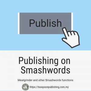 Meatgrinder and other Smashwords functions